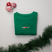 christmas mako shark childrens sweatshirt