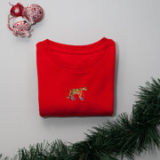 christmas tiger childrens sweatshirt