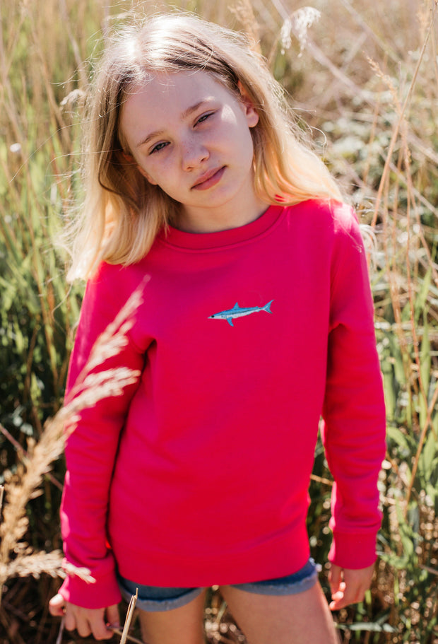 mako shark childrens sweatshirt