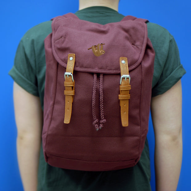 sloth rucksack / backpack