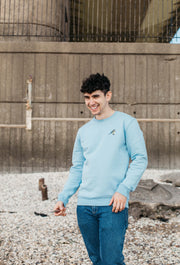 blue tit mens sweatshirt