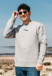blue whale mens sweatshirt