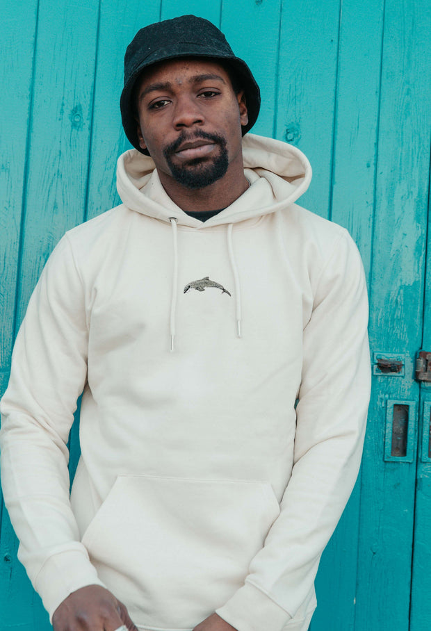 dolphin mens hoodie