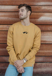 orca duo mens sweatshirt