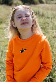orca childrens sweatshirt