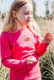 clownfish childrens sweatshirt