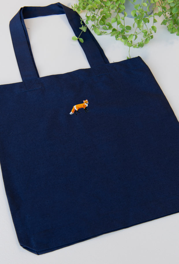 red fox tote bag
