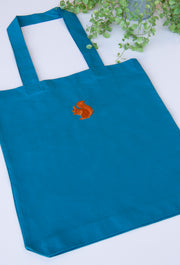 red squirrel tote bag