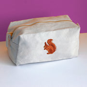 Red Squirrel Accessory Bag
