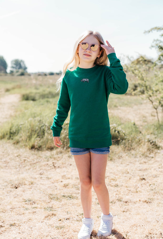 rhino childrens sweatshirt