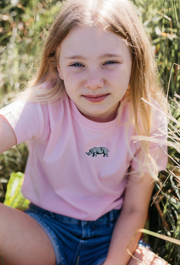 rhino childrens t-shirt