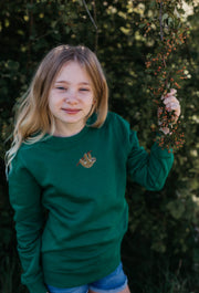 sloth childrens sweatshirt