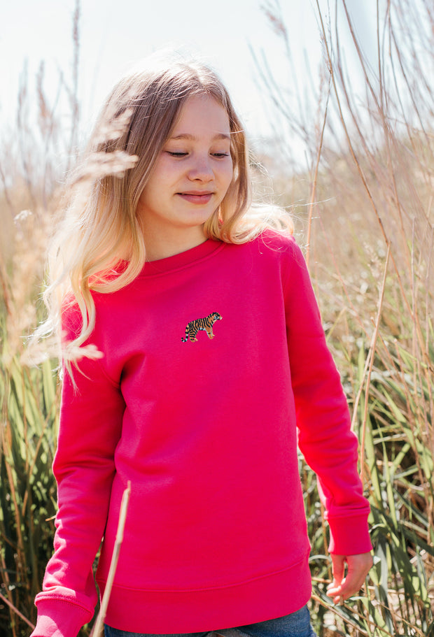 tiger childrens sweatshirt