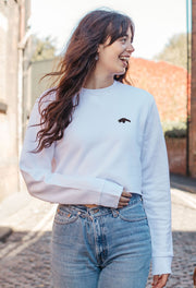 pangolin womens cropped sweatshirt