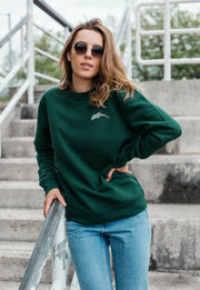 dolphin womens sweatshirt