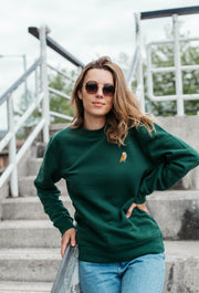 barn owl womens sweatshirt