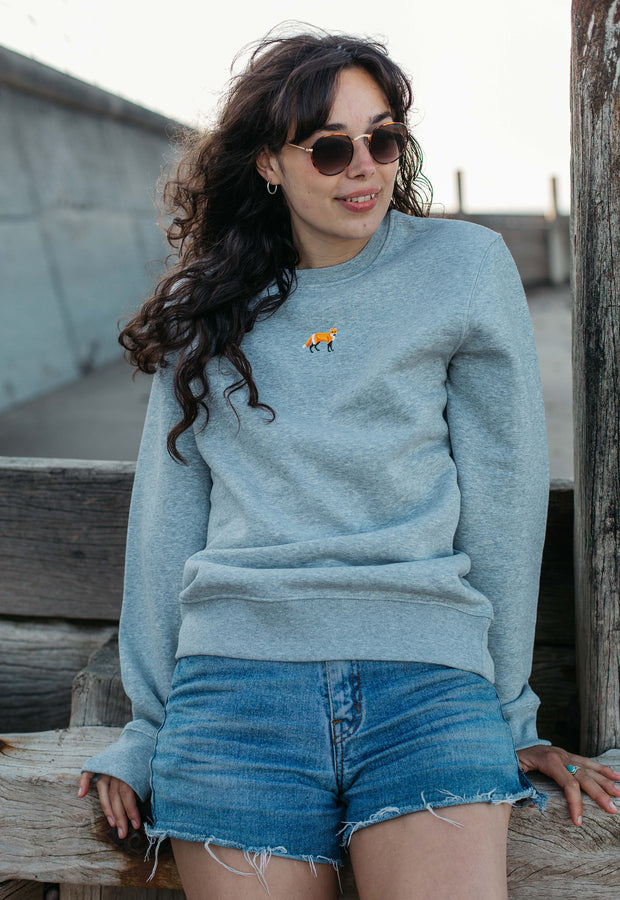 red fox womens sweatshirt