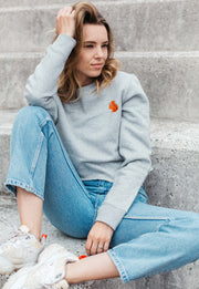 red squirrel womens cropped sweatshirt