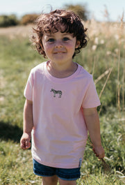 zebra childrens t-shirt