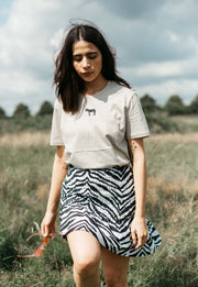 zebra womens t-shirt