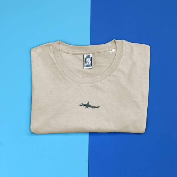 hammerhead shark mens t-shirt