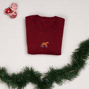 christmas tiger unisex sweatshirt