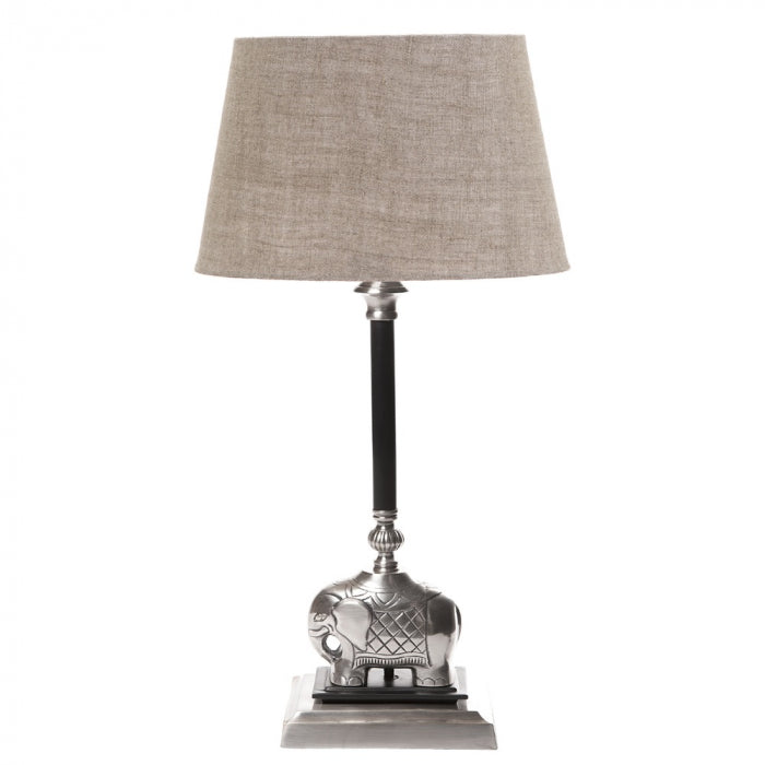 Sabu Table Lamp Base Dark Ant Silver - Magins Lighting Table Lamps Usually dispatches within 2-3 days. Please contact us to confirm prior to placing your order. Magins Lighting