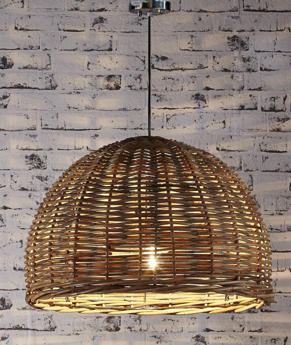 Rattan Wicker Pendant - Large - Magins Lighting Pendant Usually dispatches within 2-3 days. Please contact us to confirm prior to placing your order. Magins Lighting