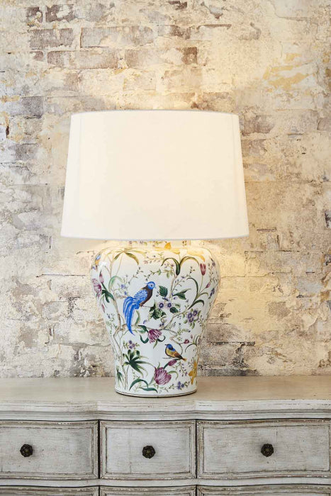 Raffles Ceramic Table Lamp - Magins Lighting Table Lamps Usually dispatches within 2-3 days. Please contact us to confirm prior to placing your order. Magins Lighting