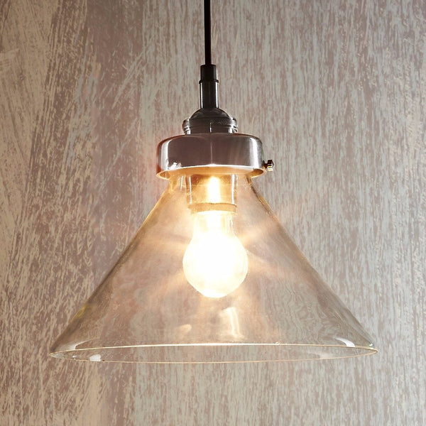 Franklin - Magins Lighting Glass Pendant Usually dispatches within 2-3 days. Please contact us to confirm prior to placing your order. Magins Lighting
