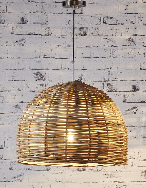 Rattan Wicker Pendant - Small - Magins Lighting Pendant Usually dispatches within 2-3 days. Please contact us to confirm prior to placing your order. Magins Lighting