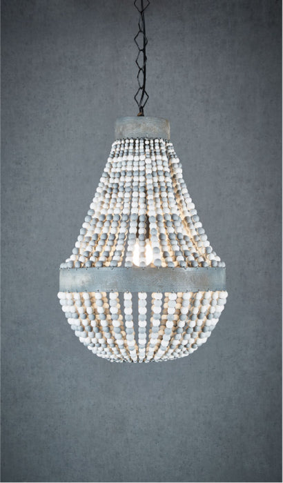 Kasbah Oval Beaded Pendant Light - Magins Lighting Pendant Usually dispatches within 2-3 days. Please contact us to confirm prior to placing your order. Magins Lighting
