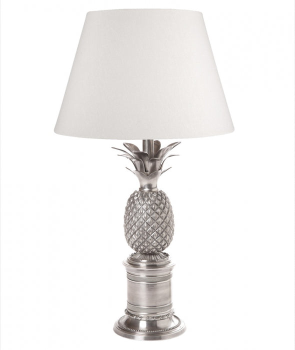 Bermuda Table Lamp Base Antique Silver - Magins Lighting Table Lamps Usually dispatches within 2-3 days. Please contact us to confirm prior to placing your order. Magins Lighting