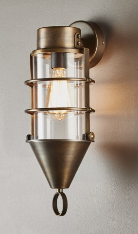 Eastwood Wall Lamp in Brass - Magins Lighting Interior Wall Lamps Usually dispatches within 2-3 days. Please contact us to confirm prior to placing your order. Magins Lighting