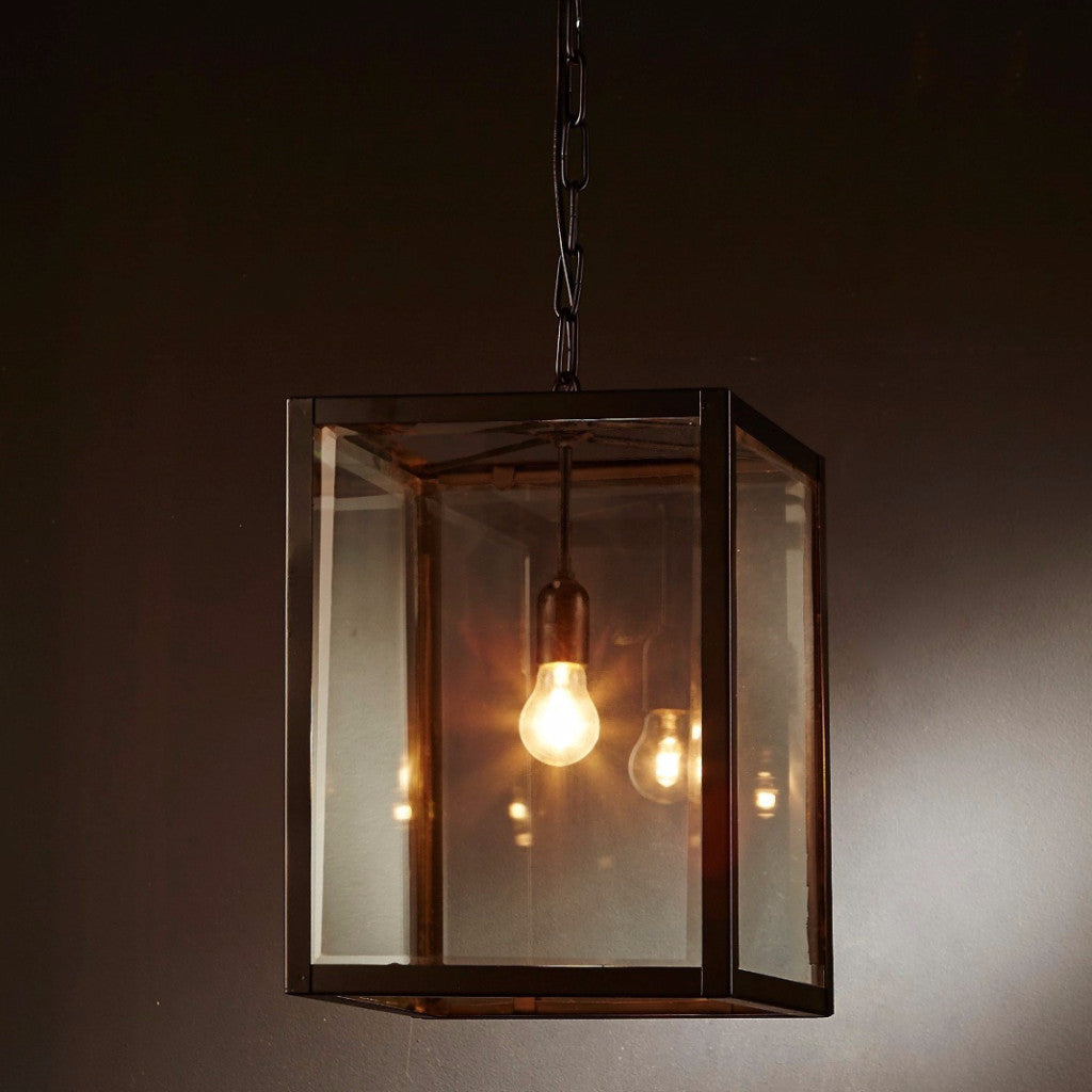 Archie Rose Ceiling Lantern - Small - Magins Lighting Lantern Usually dispatches within 2-3 days. Please contact us to confirm prior to placing your order. Magins Lighting