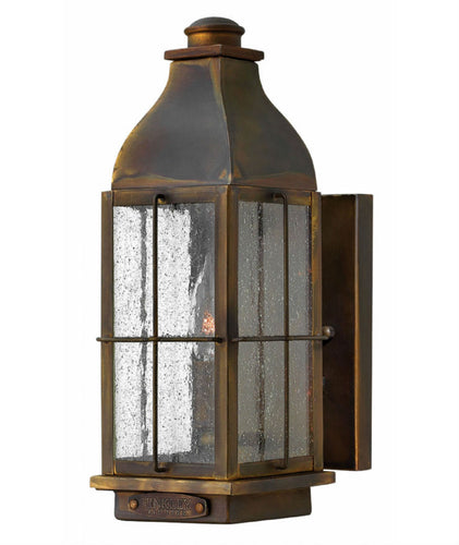 Bingham Wall Lantern | Small - Magins Lighting Exterior Wall Lamps Elstead Lighting Magins Lighting