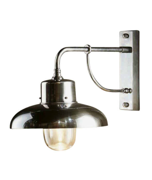 Bridgewater | Aged Nickel - Magins Lighting Exterior Wall Lamps Magins Lighting Magins Lighting