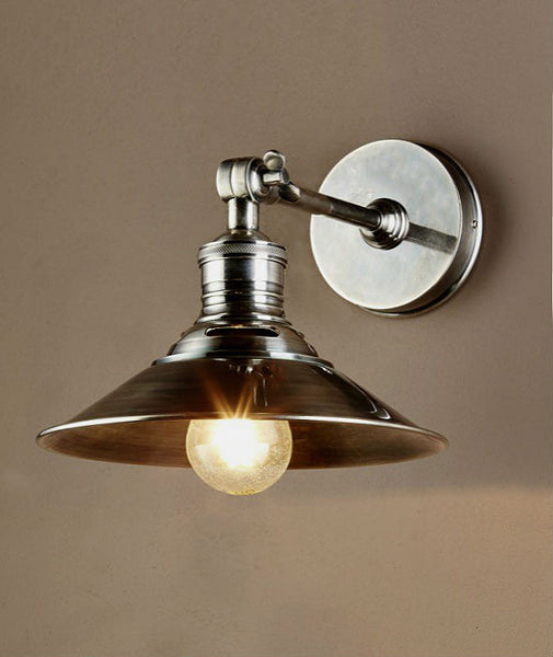Bristol Wall Sconce | Aged Nickel - Magins Lighting Interior Wall Lamps Lead Time: 7 - 10 Days Magins Lighting