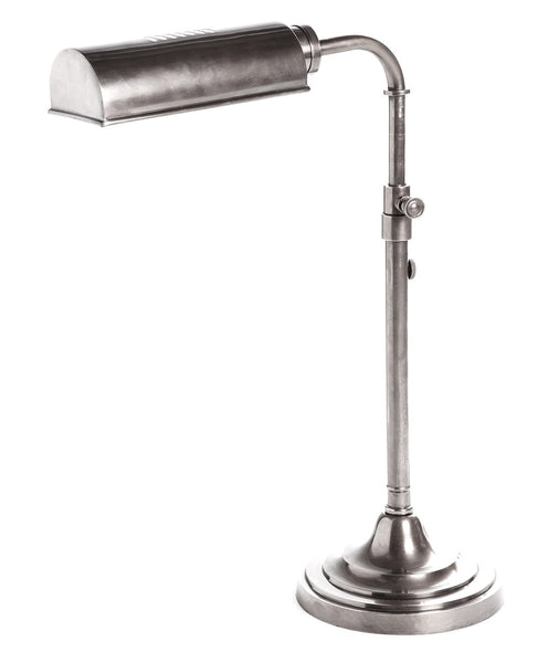 Brooklyn Desk Lamp - Aged Nickel - Magins Lighting Desk & Floor Lamps Usually dispatches within 2-3 days. Please contact us to confirm prior to placing your order. Magins Lighting