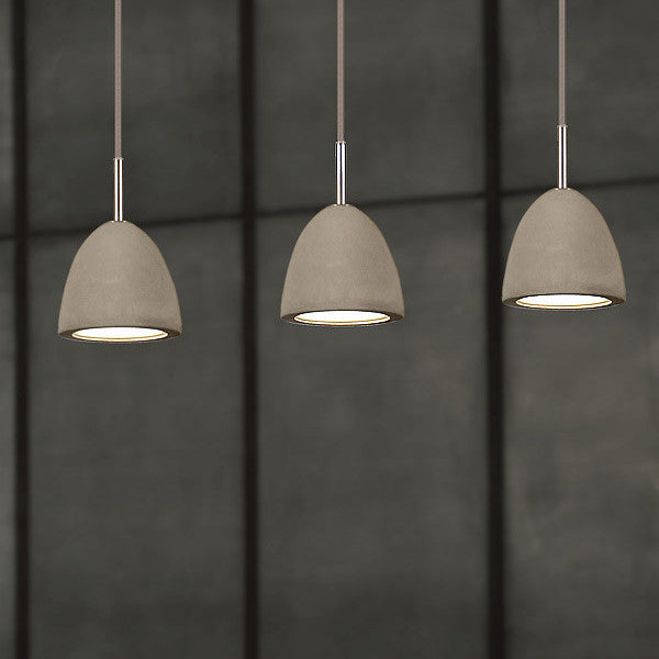 Concrete Pendant | Small - Magins Lighting Wood and Concrete Pendants Lead Time: 1 - 2 Weeks Magins Lighting