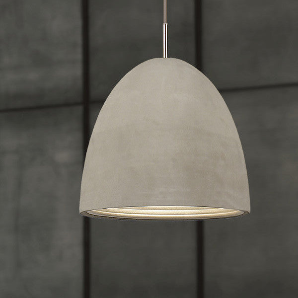 Concrete Pendant | Large - Magins Lighting Wood and Concrete Pendants Lead Time: 1 - 2 Weeks Magins Lighting
