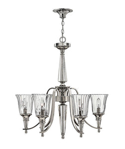 Chandon 6 Light Chandelier - Magins Lighting Pendant Elstead Lighting Magins Lighting