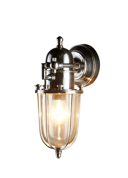 Chapel | Antique Nickel - Magins Lighting Exterior Wall Lamps Magins Lighting Magins Lighting