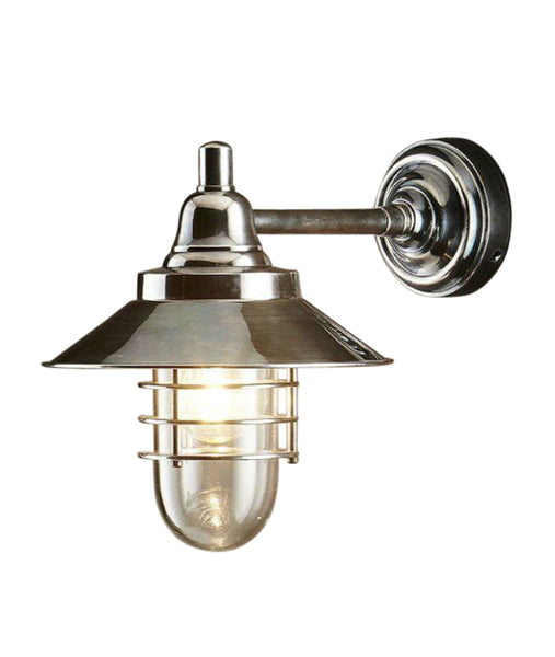 Clark | Antique Nickel - Magins Lighting Exterior Wall Lamps Magins Lighting Magins Lighting