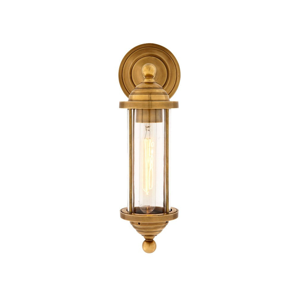 Clayton | Aged Brass - Magins Lighting Interior Wall Lamps Lead Time: 5 - 6 Weeks Magins Lighting