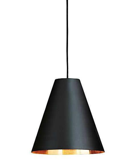 Conrad Pendant | Black & Copper - Magins Lighting Pendant Usually dispatches within 2-3 days. Please contact us to confirm prior to placing your order. Magins Lighting