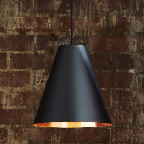 Conrad Pendant | Black & Copper - Magins Lighting Pendant Emac & Lawton Magins Lighting