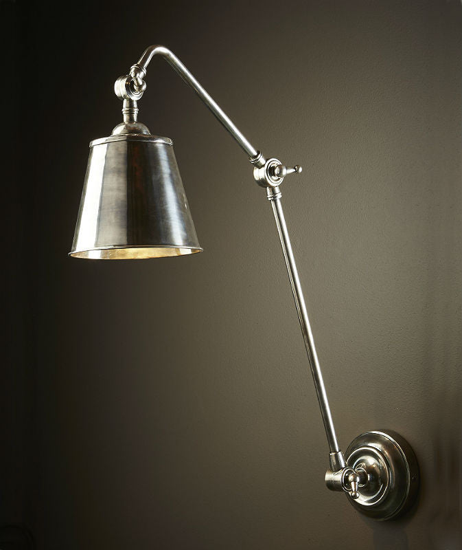 Cromwell | Aged Nickel - Magins Lighting Interior Wall Lamps Lead Time: 7 - 10 Days Magins Lighting