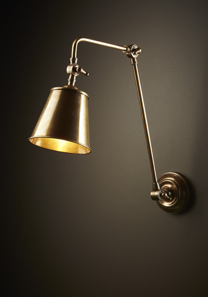 Cromwell Wall Lamp | Aged Brass - Magins Lighting Interior Wall Lamps Emac & Lawton Magins Lighting