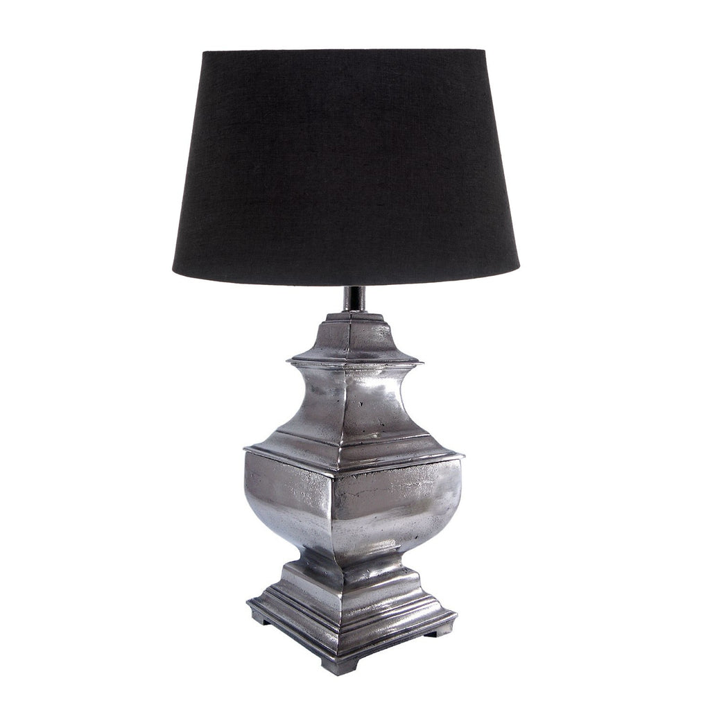 Delphi Table Lamp / Aged Silver - Magins Lighting Table Lamps Emac & Lawton Magins Lighting